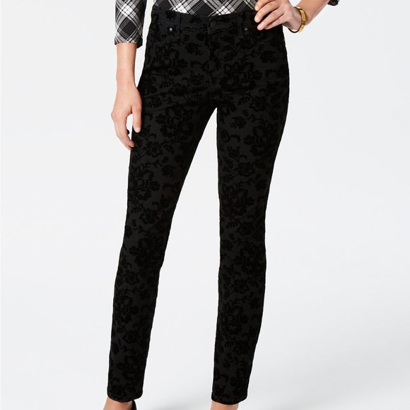 Charter Club Denim - NWT Charter Club Lexington Black Skinny Jeans - 18